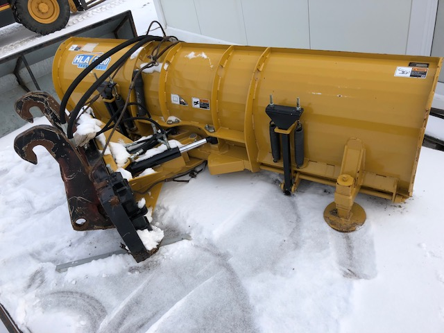8 Hla 3000 Hydraulic Angle It Cat Coupler Snow Blade